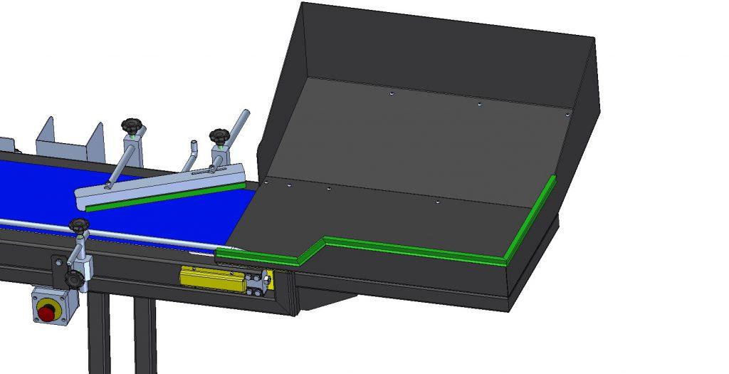 2934 - Esteira Inclinada para Impressão Inkjet