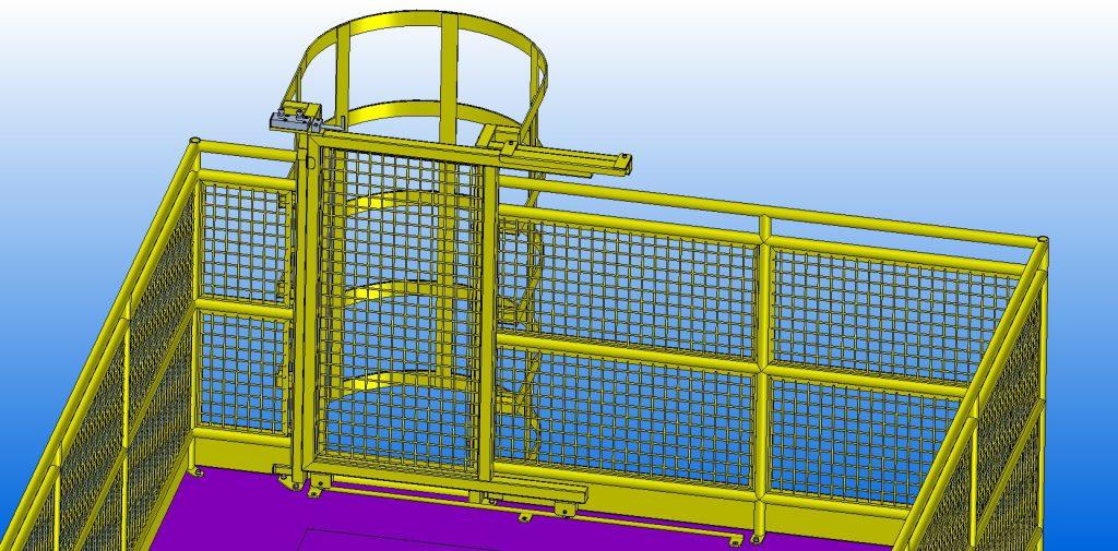 2875 - Guarda Corpo e Escada Vertical