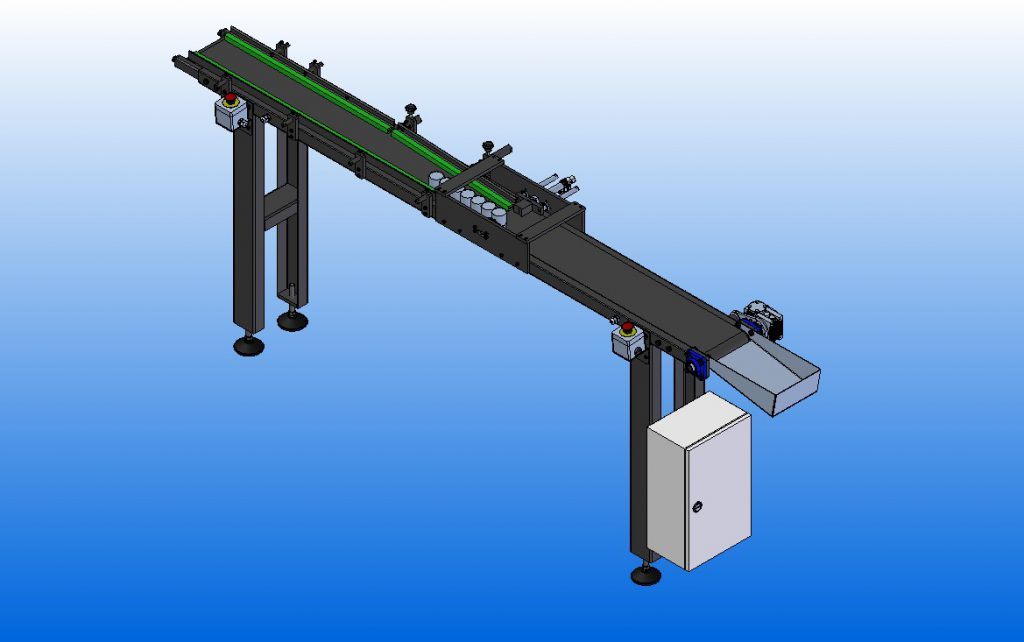2562 - Esteira para Sistema de Gravação a Laser